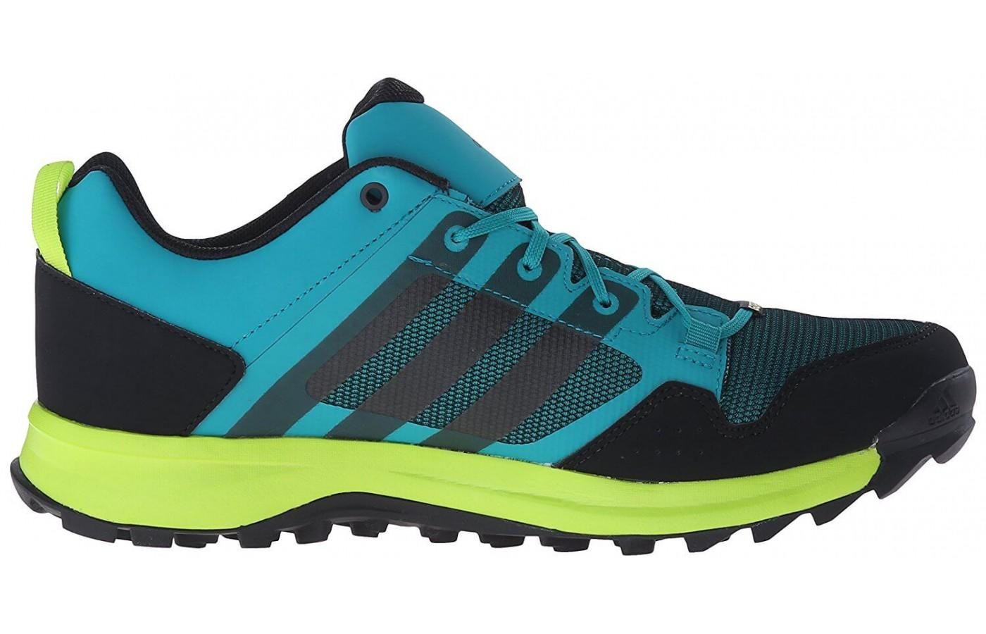 Even though the shoe is waterproof, it's easy to see how breathable the upper material is too.