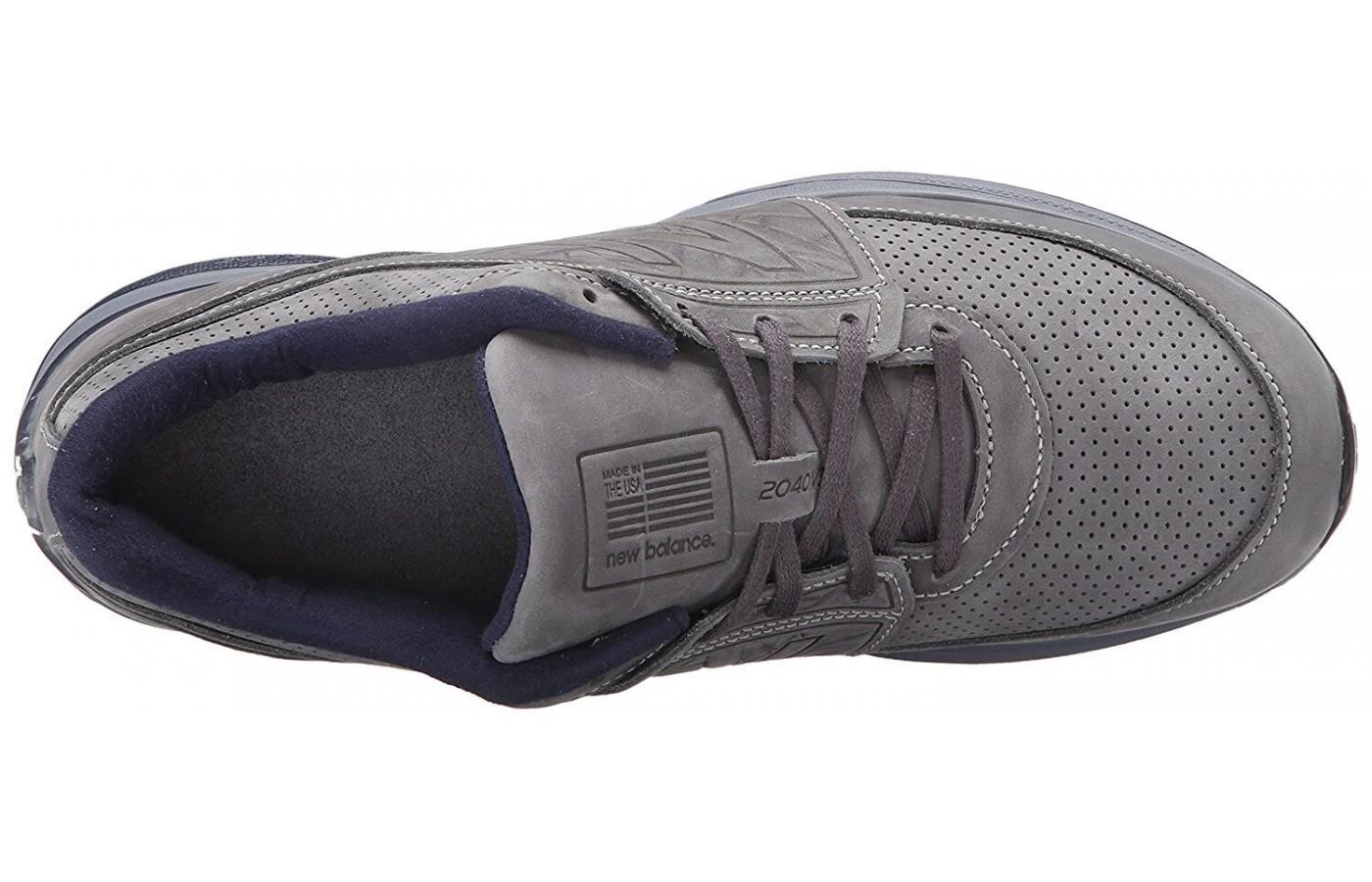 Aerial view of the New Balance 2040 v3