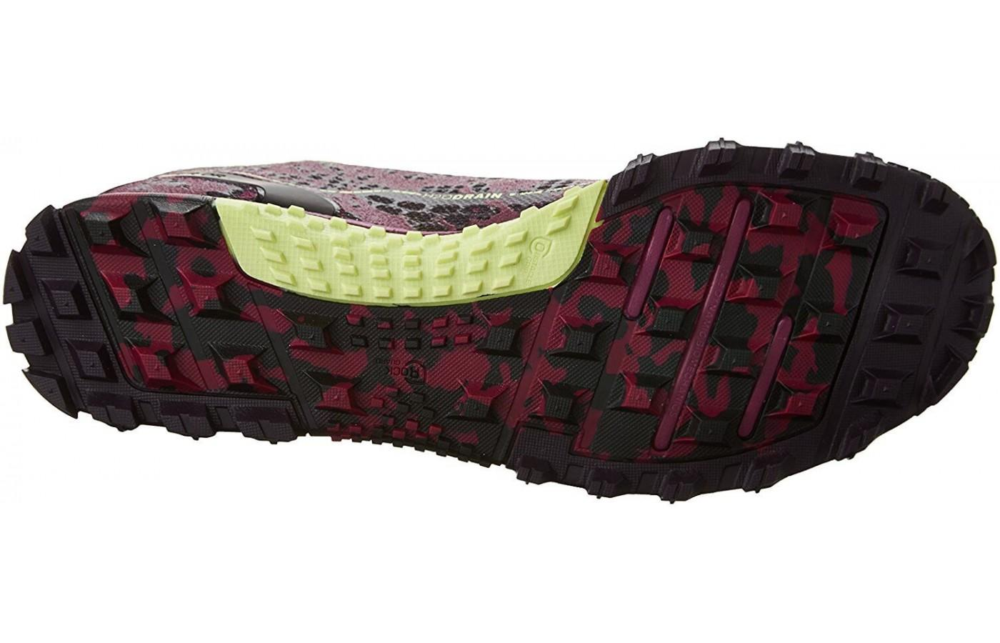 Here is the outsole of the Reebok All Terrain Super