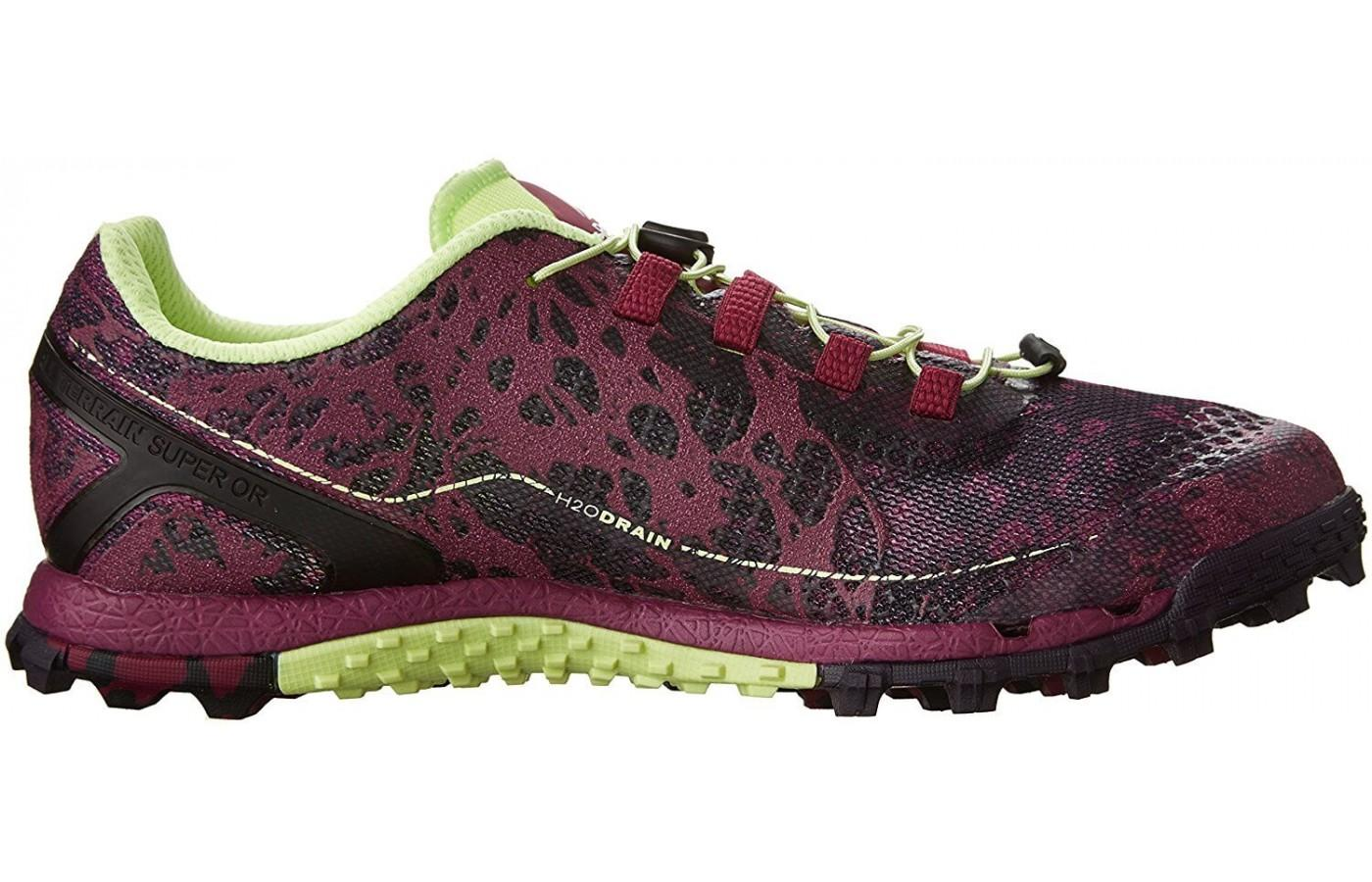 Here is the profile of the Reebok All Terrain Super