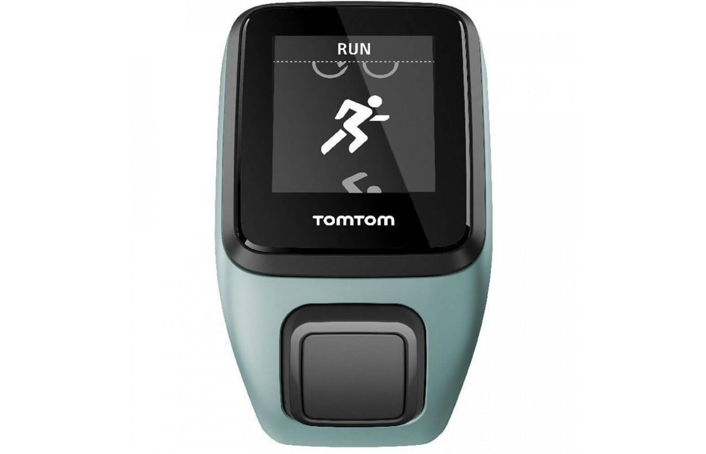 TomTom Spark tracks duration, pace, and distance