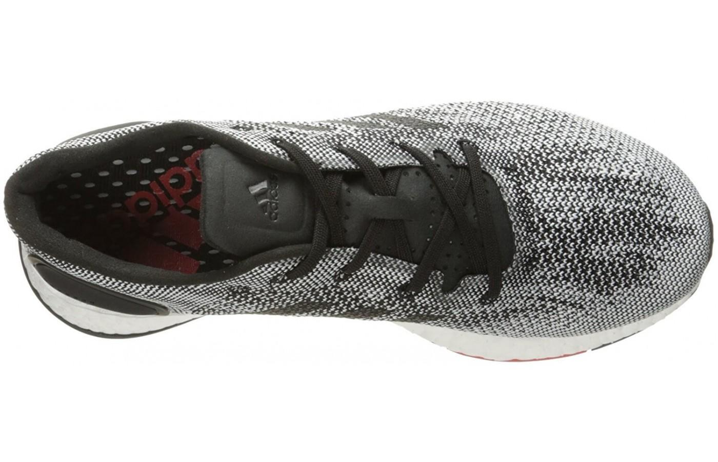 The boost cushioning in the midsole is the shining star of this model.