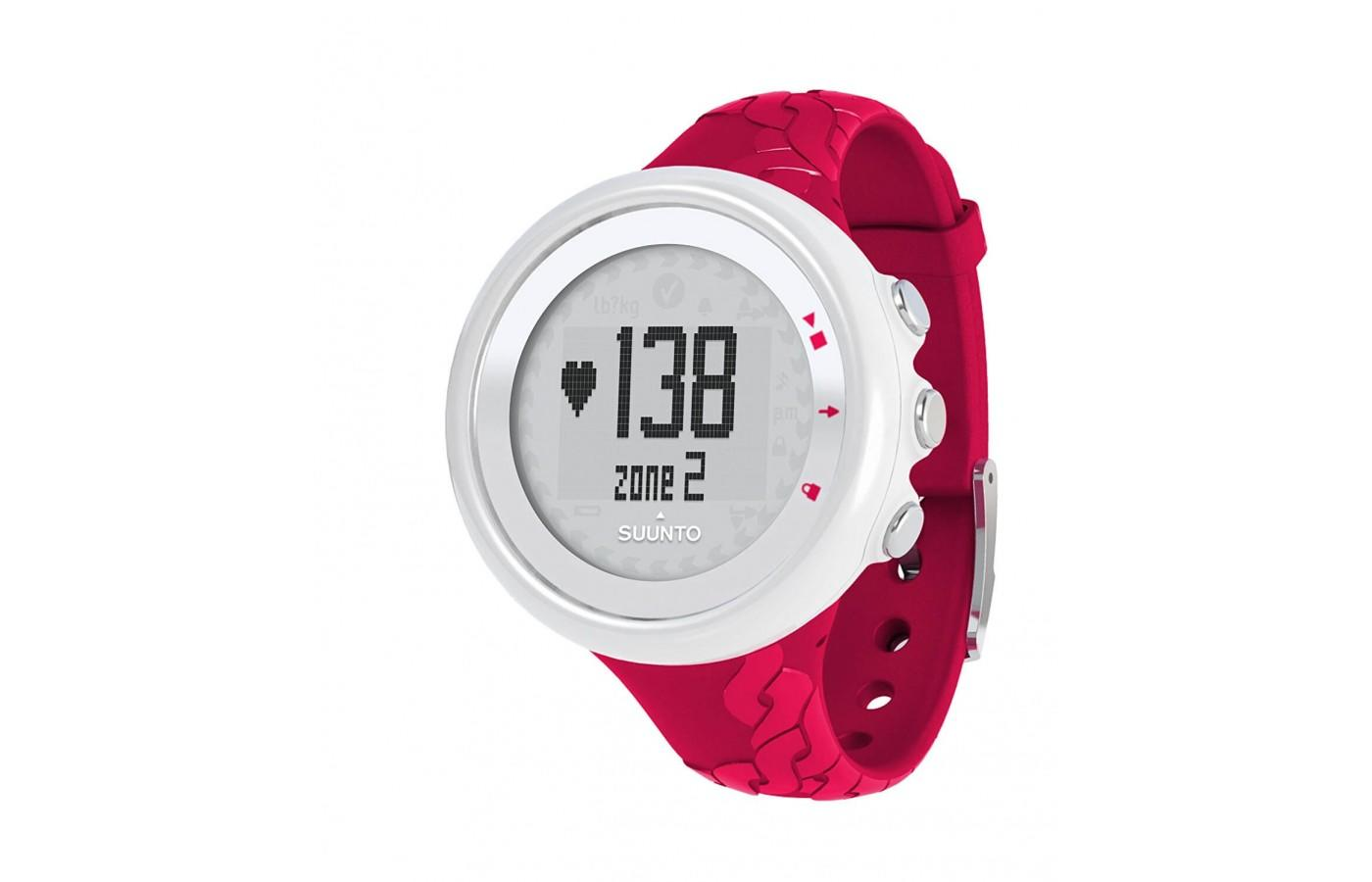 The suunto m2 comes in pink as well