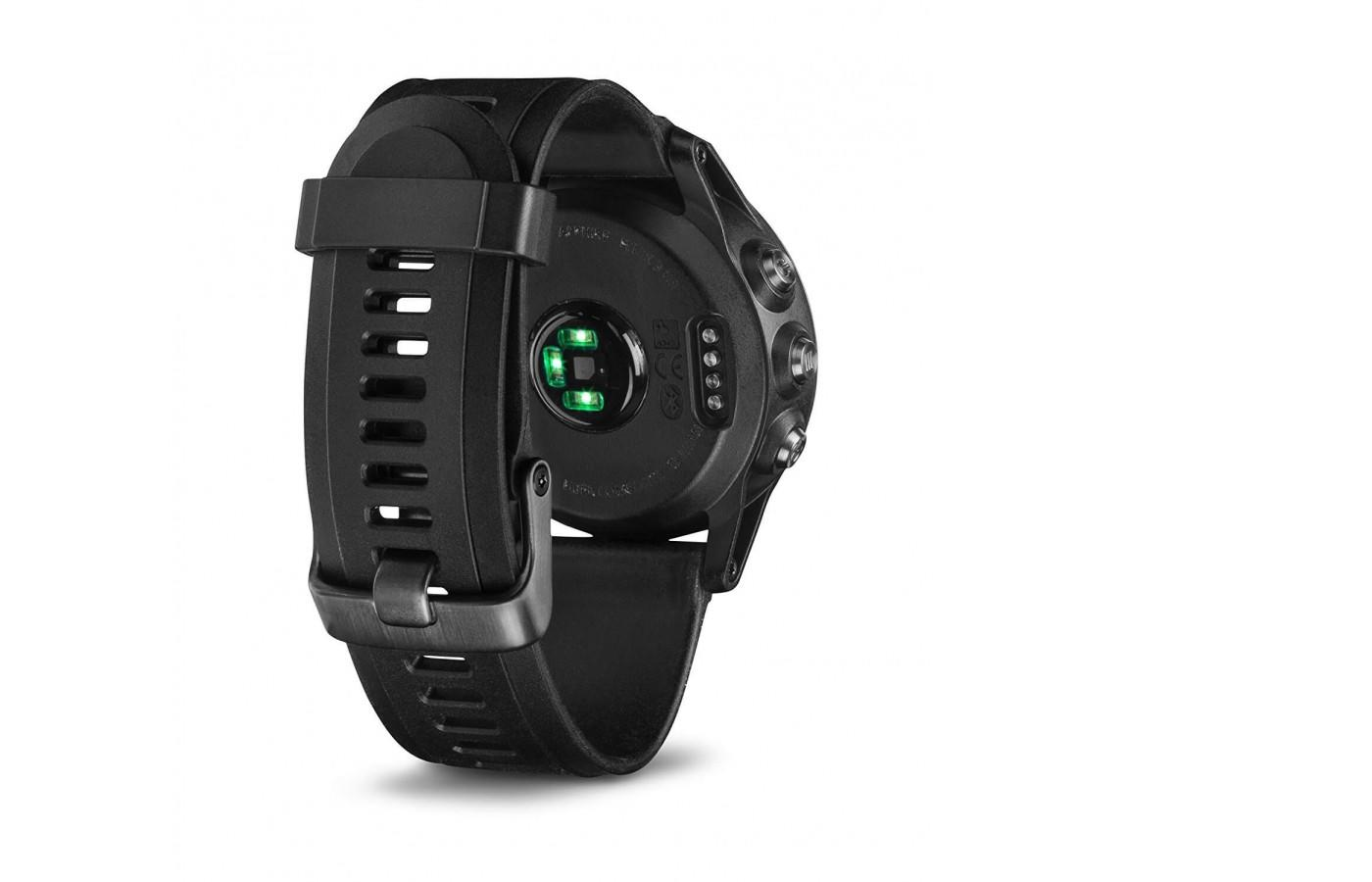 The Fenix 3 Sapphire has a heart rate monitor