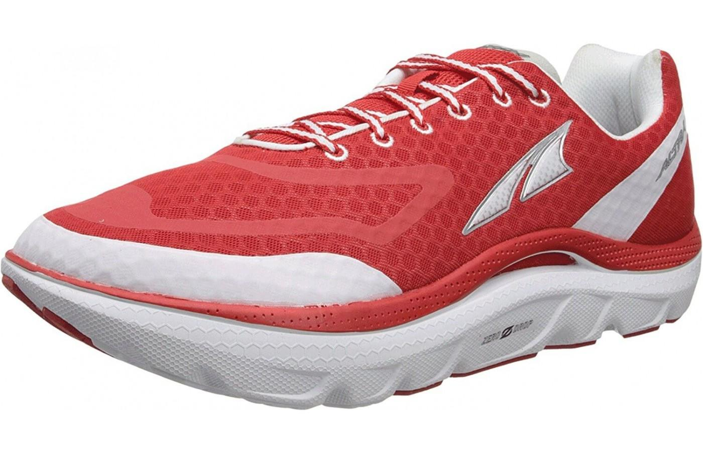 the Altra Paradigm is a comfortable maximalist trainer
