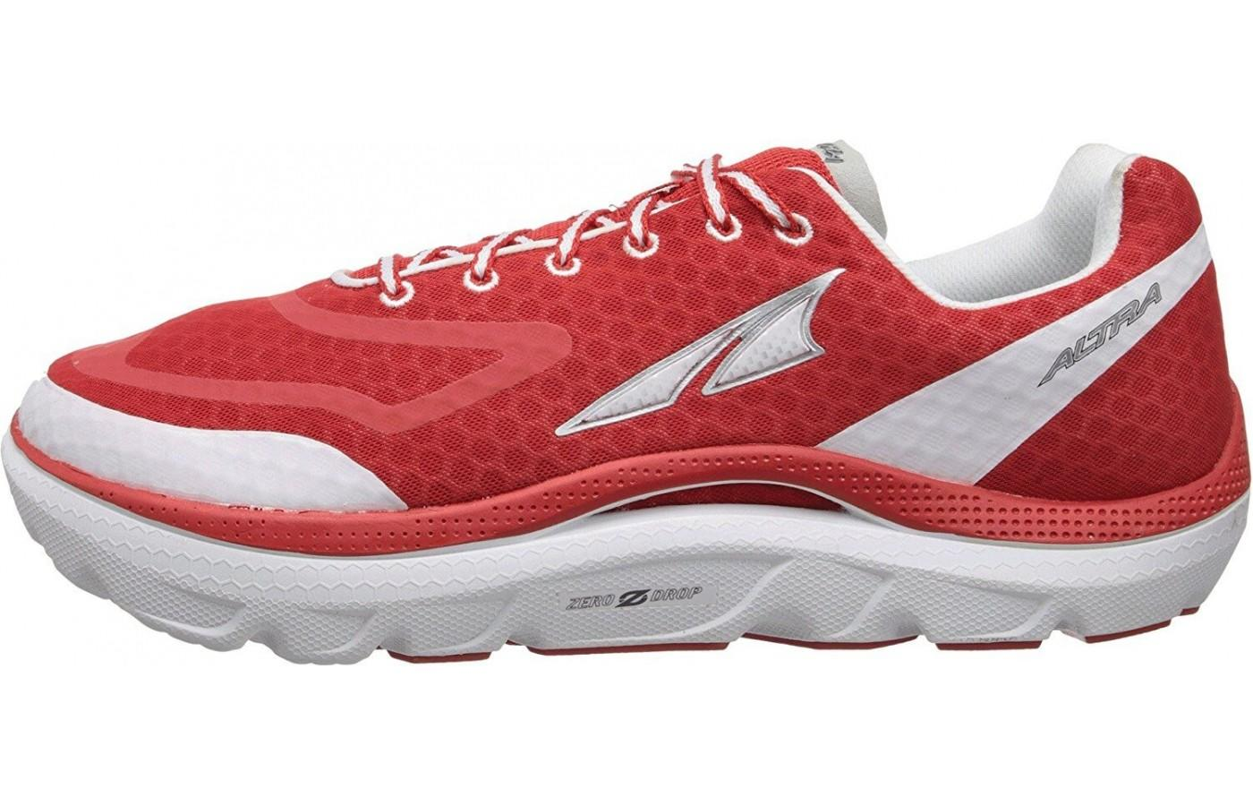the left side of the Altra Paradigm