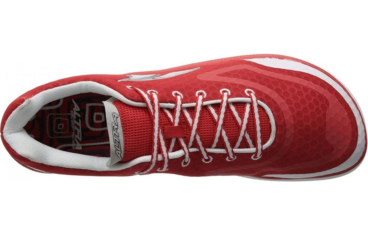 the Altra Paradigm has an extra-wide toe box