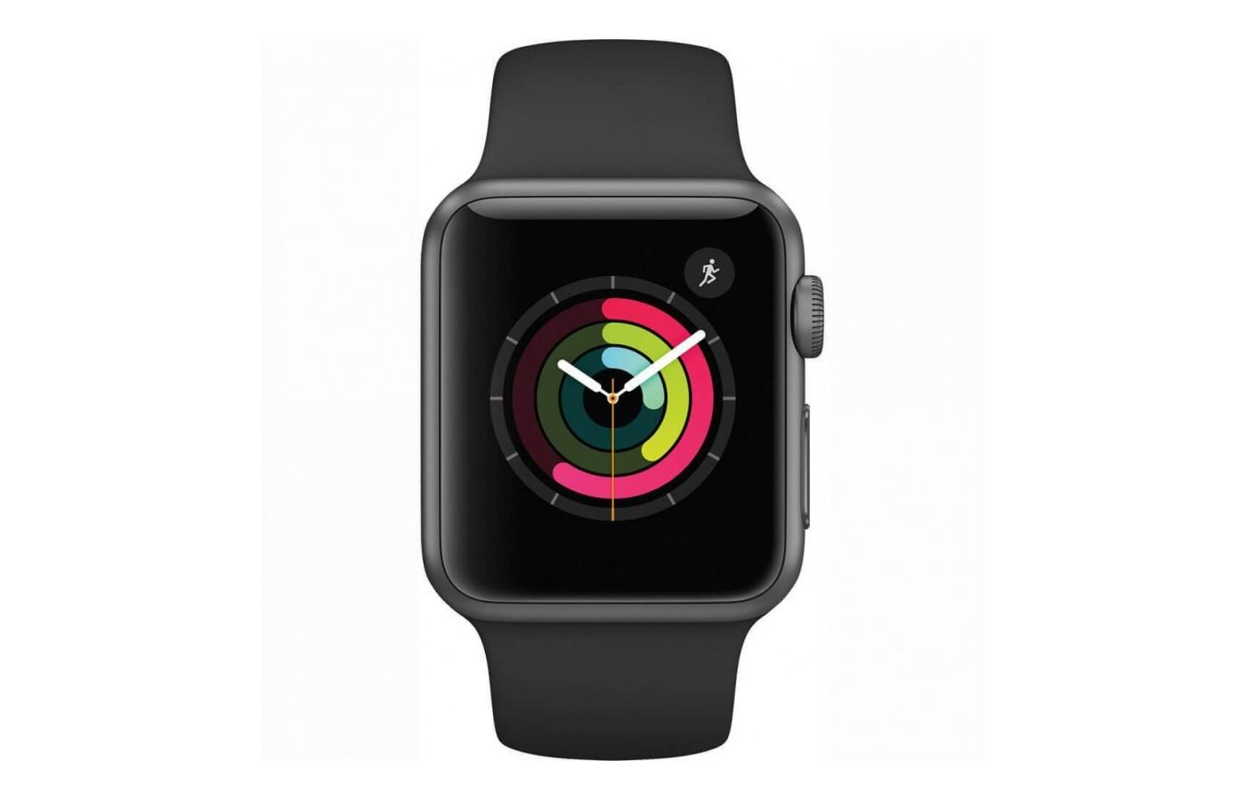 The Apple Watch Series 1 has a retina display with Force Touch