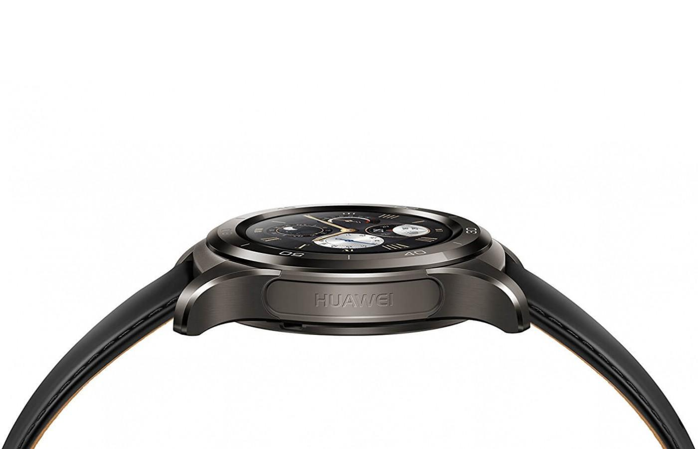 huawei watch 2 classic. the huawei watch 2 classic has a two-layer strap c