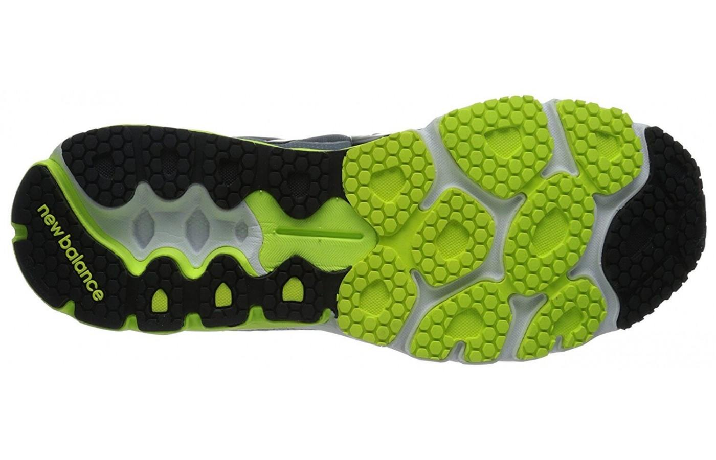 this is the outsole of the new balance 870 v4