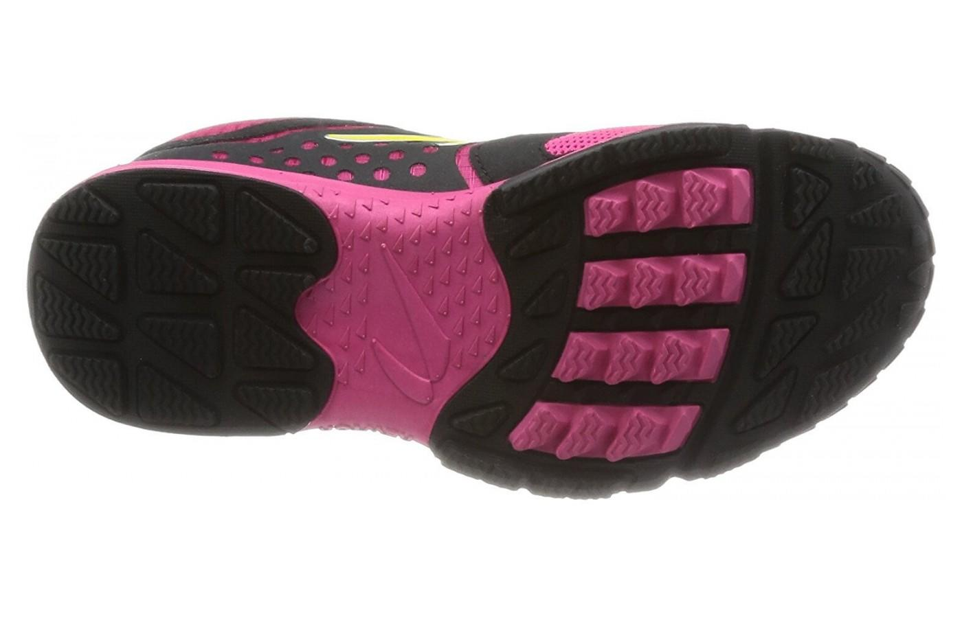 the Newton BoCo AT has multi-directional lugs for traction and four-lug cushioning for comfort