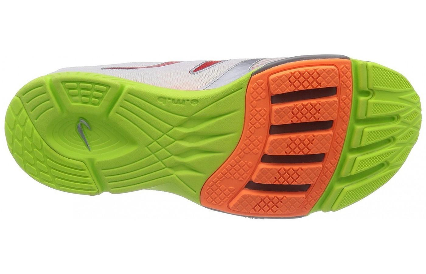 Newton Distance S IV outsole features proprietary lugs