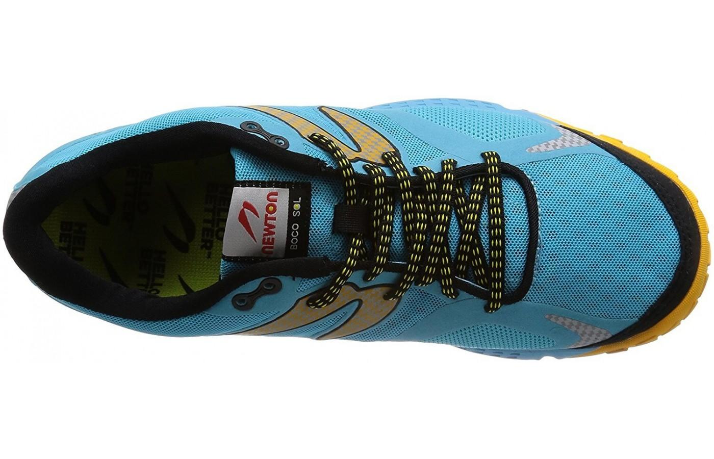 the Newton BoCo Sol features a highly breathable upper