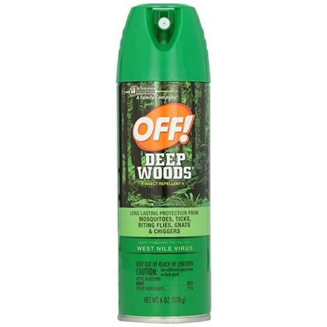 1. Off! Deep Woods Bug Spray