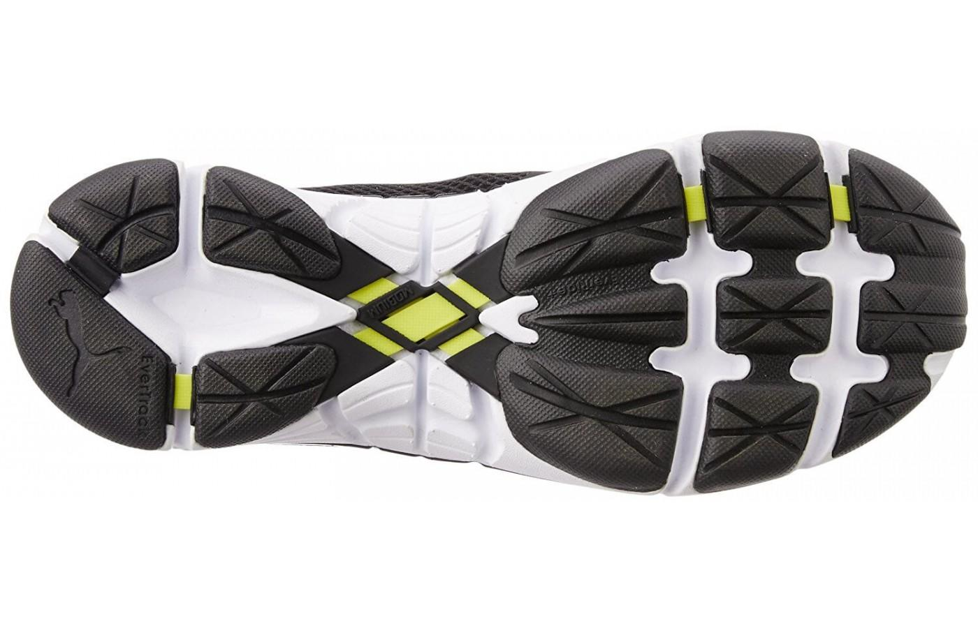 the Puma Mobium Ride v2 features the Mobius Band, which adds a spring to each step