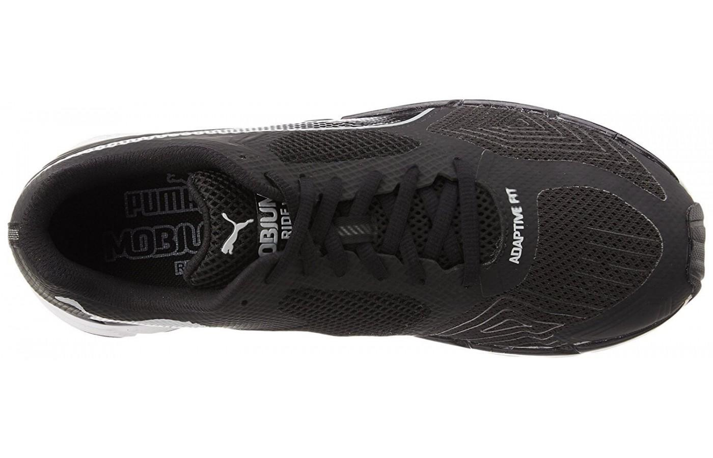 the Puma Mobium Ride v2 has a highly breathable dual-layer upper mesh