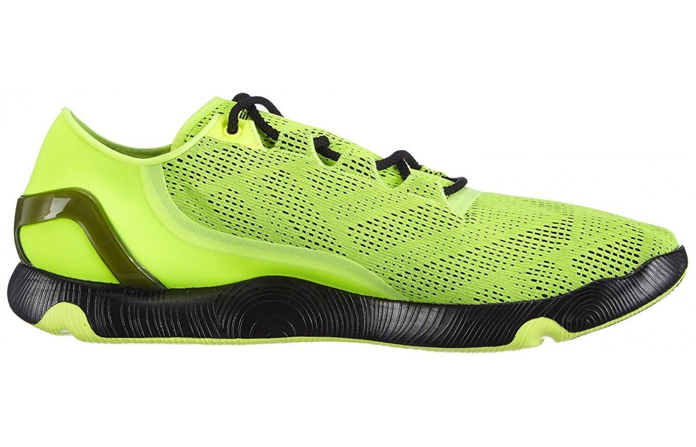 the Under Armour SpeedForm RC Vent uses bright colors