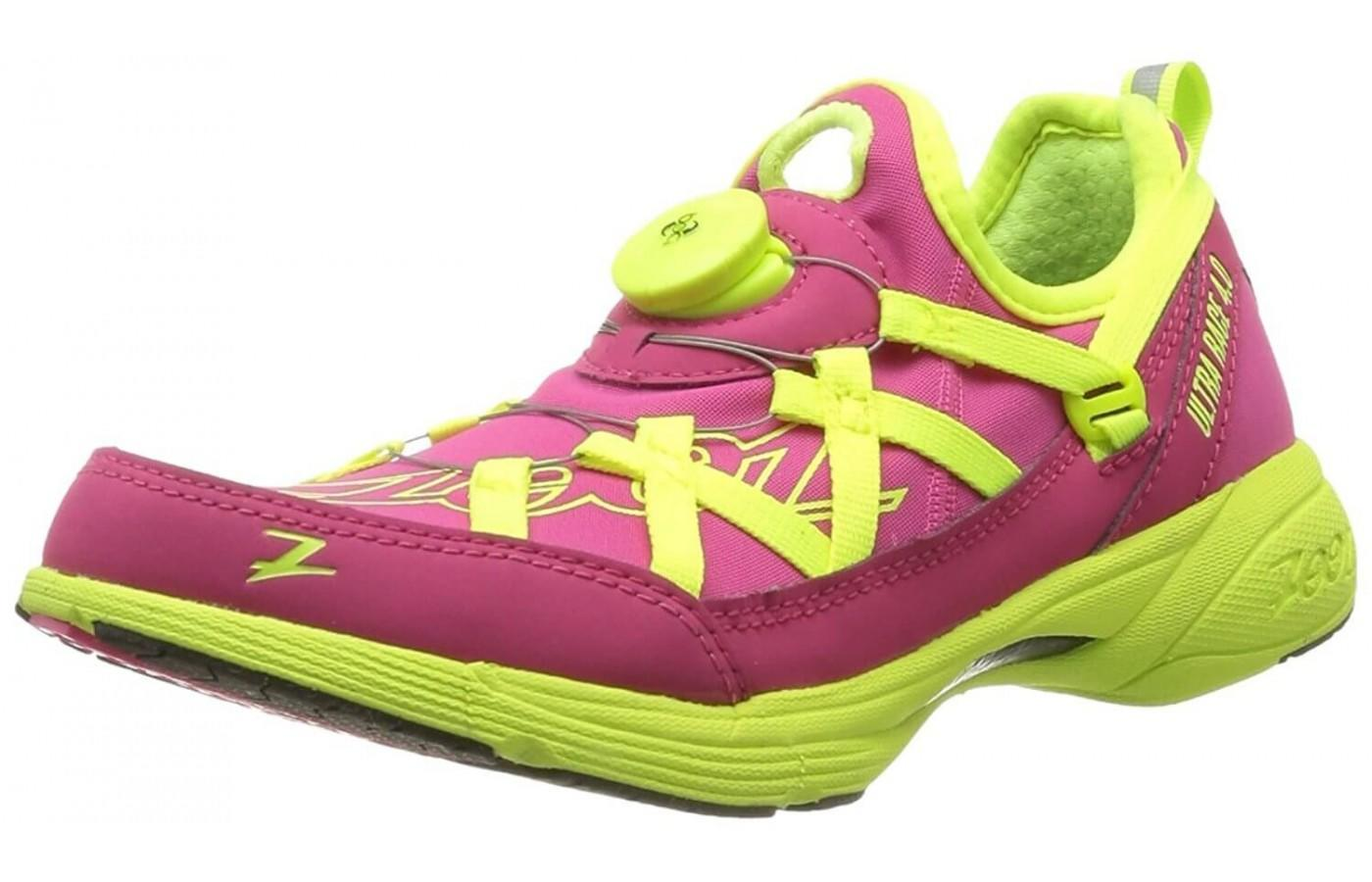 the Zoot Ultra Race 4.0 shown from the front/side