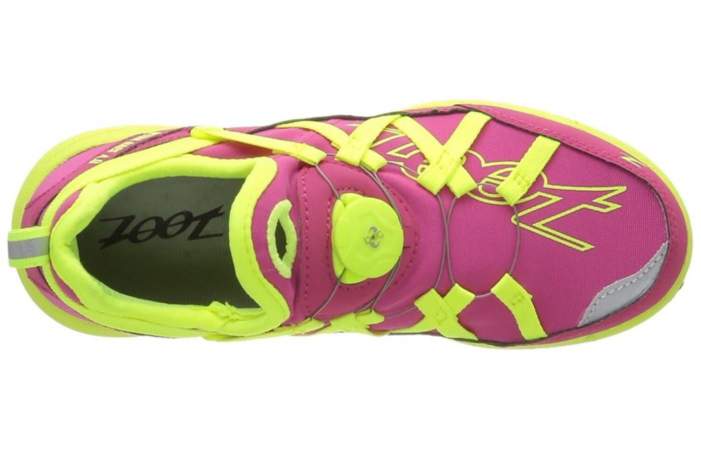 the Zoot Ultra Race 4.0 has an UltraFit upper for form fitting comfort