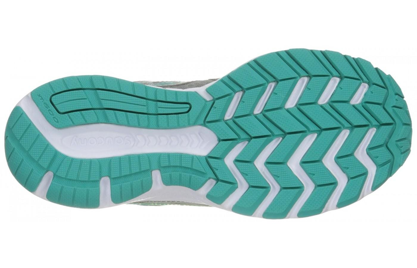 Saucony Cohesion 10 outsole