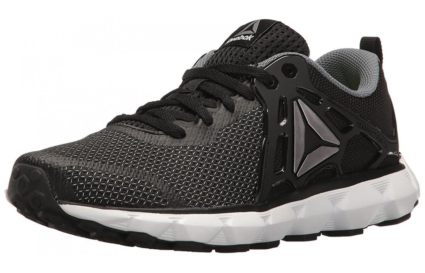 The Reebok Hexaffect Run 5.0 is a comfortable, cushioned shoe