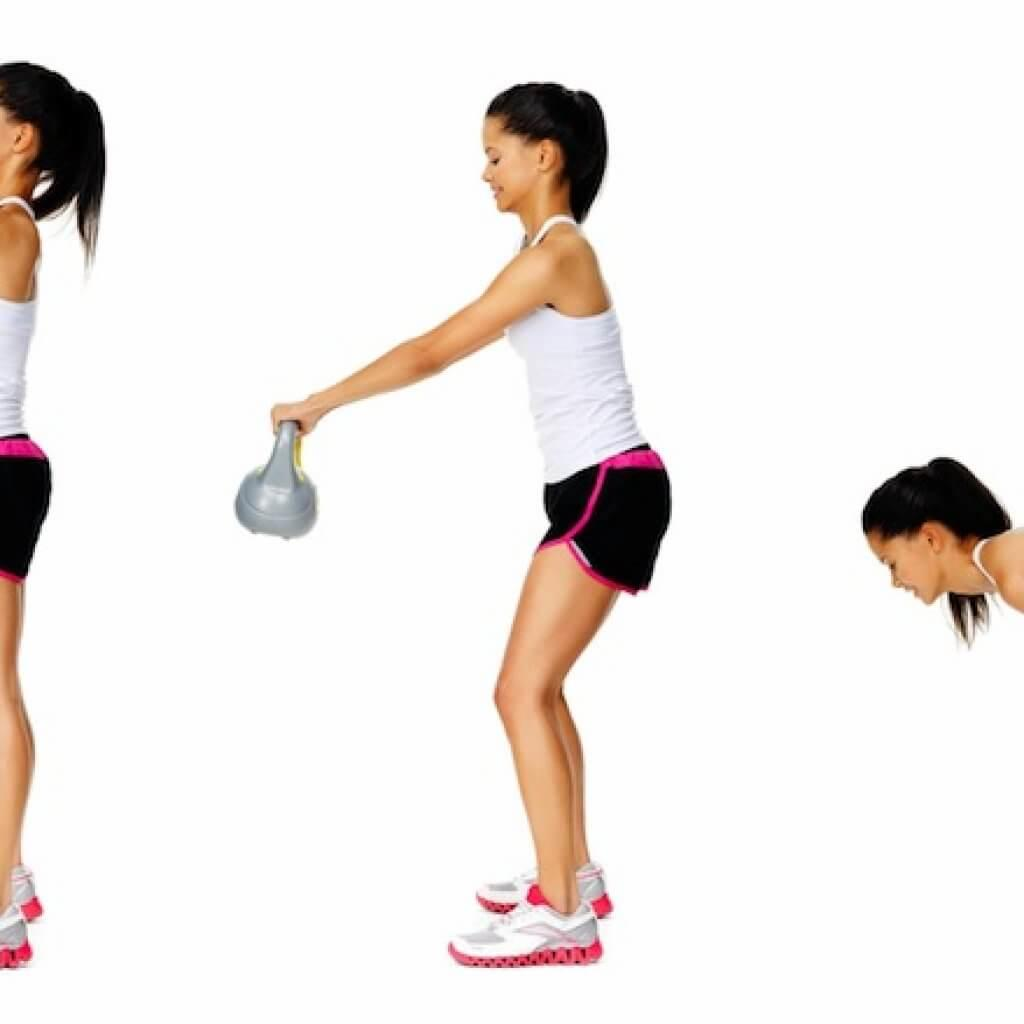 kettlebell home workout exercises