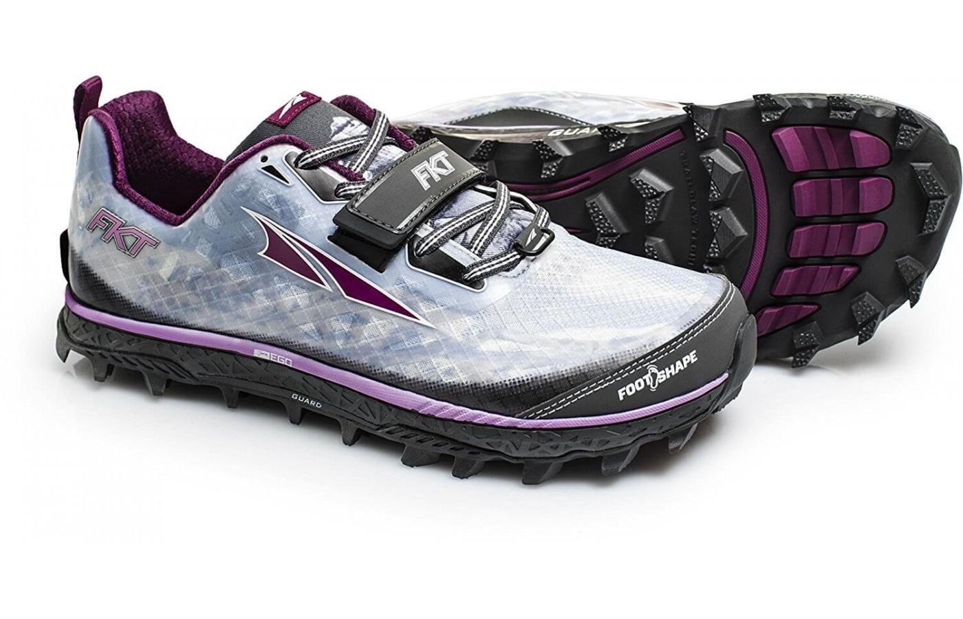 The Altra King MT features a zero drop like other Altra shoes