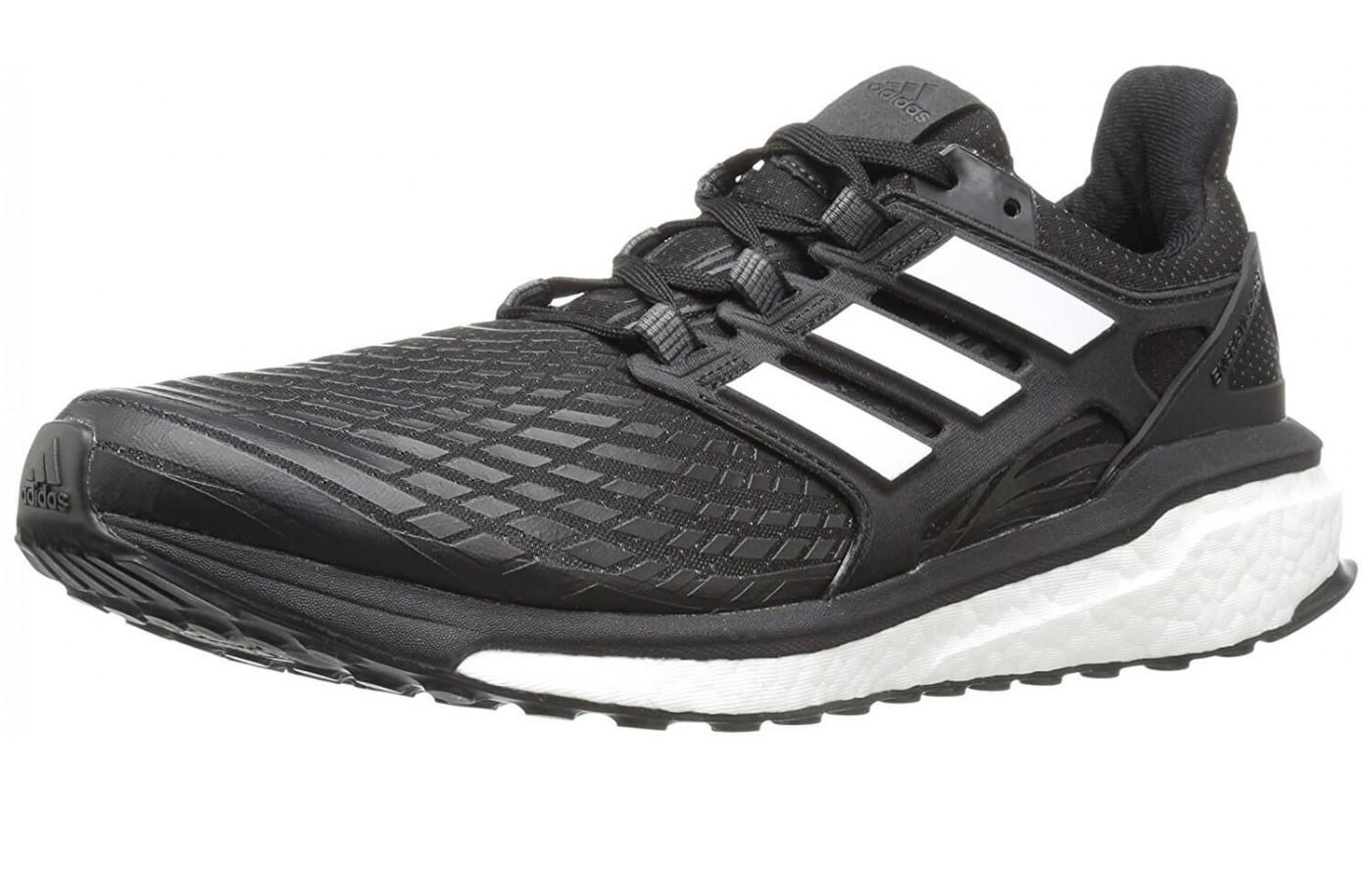 Adidas Energy Boost shown from the front/side