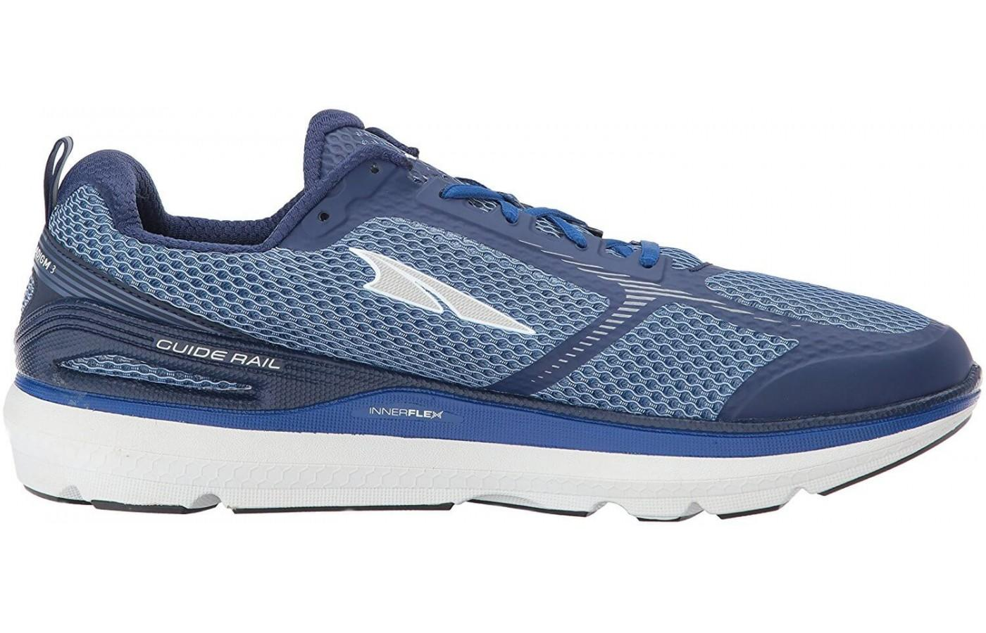 The Altra Paradigm 3.0 has a guide rail for off-track steering