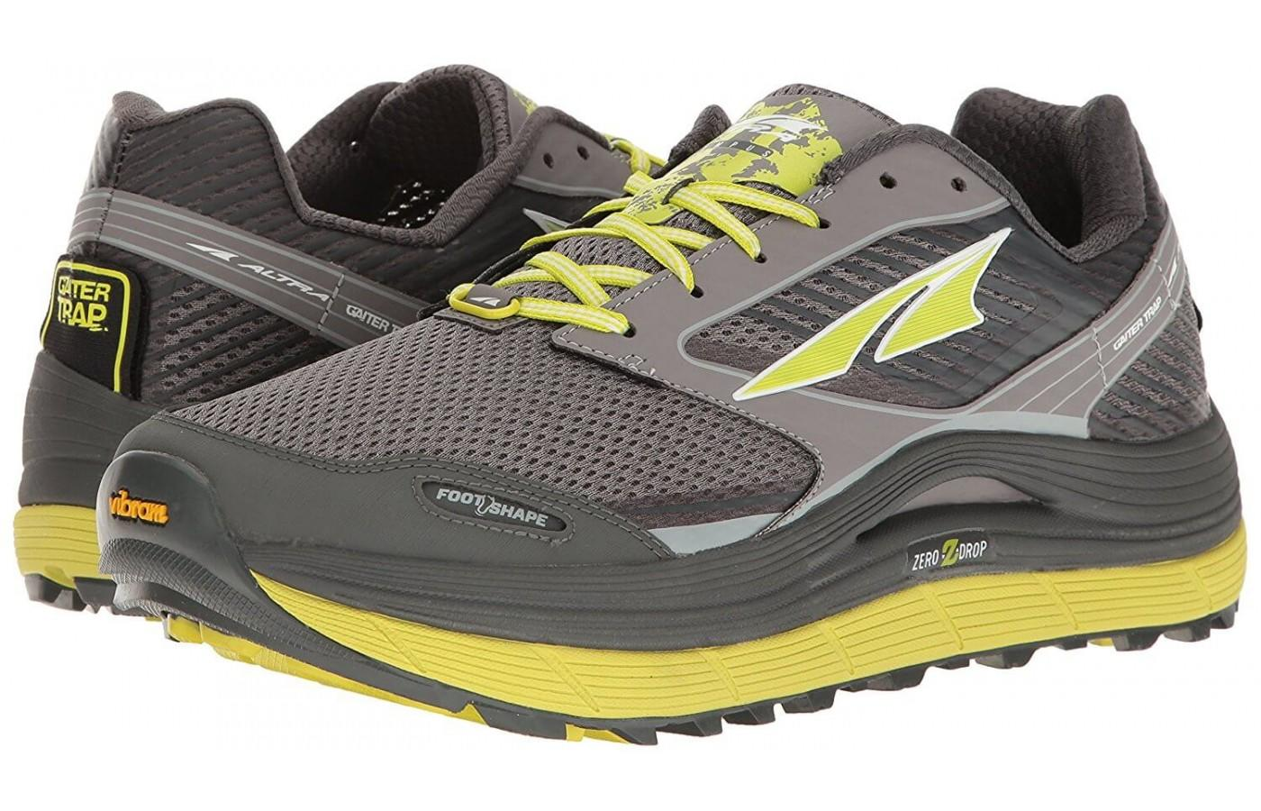 Altra Olympus 2.5 in yellow and grey colorway for men