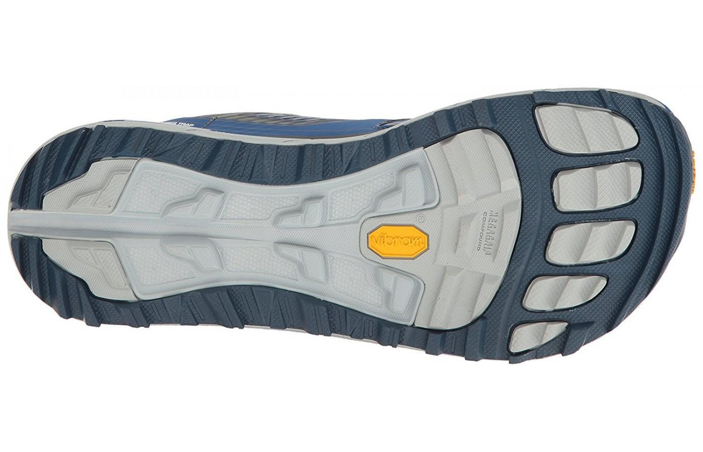 Altra Olympus 2.5 features a Vibram outsole