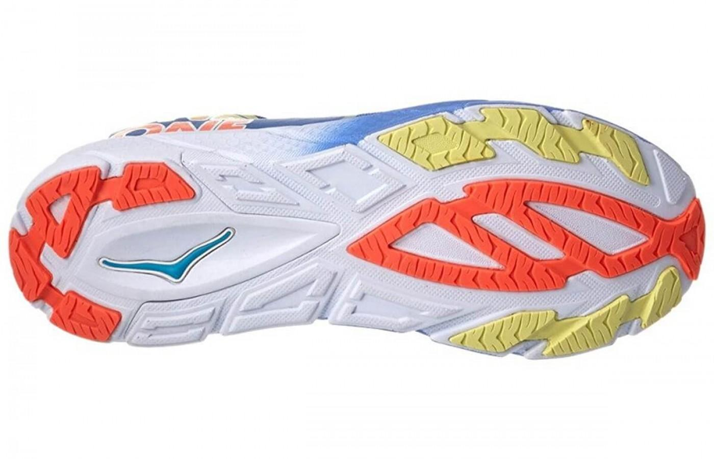 Hoka One One Tracer 2 has a durable outsole with great traction