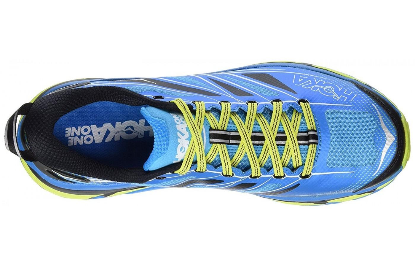 Hoka One One Mafate Speed 2 has a seamless upper for ultimate comfort