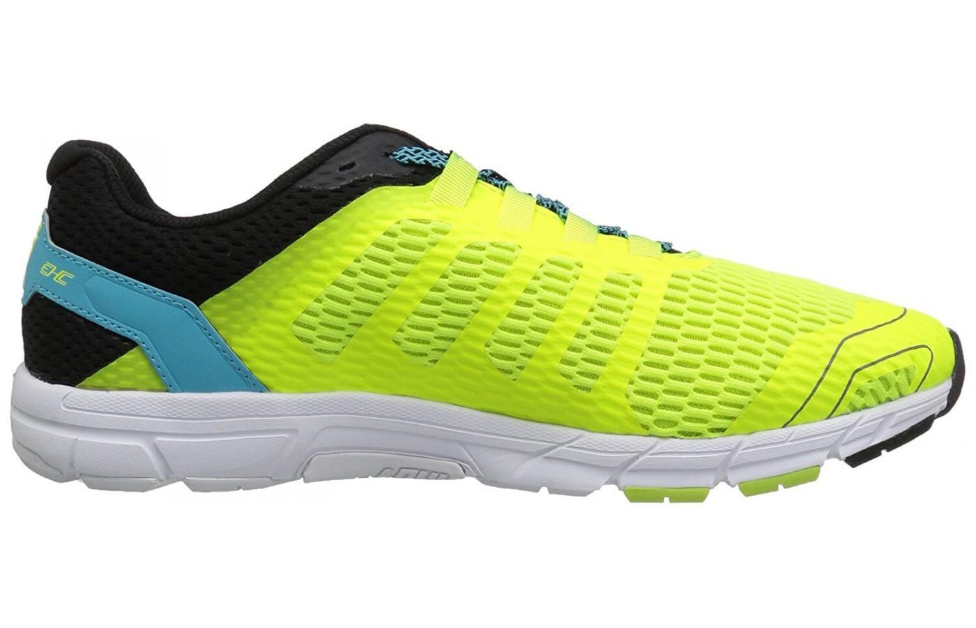 The Adapterweb Met-Cradle offers runners a snug fit through the midfoot of the Inov-8 Roadtalon 240.