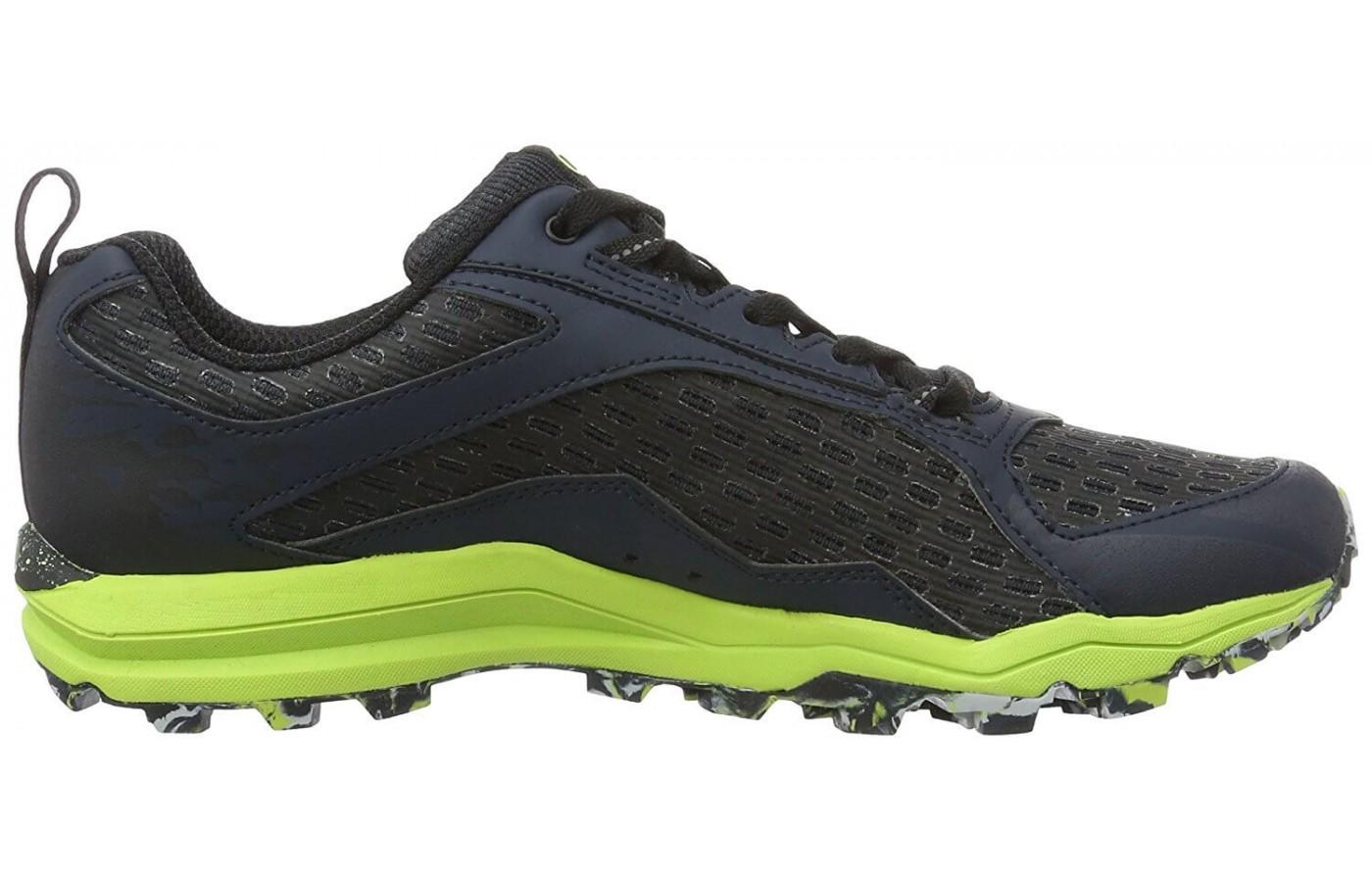 Merrell All Out Crush Tough Mudder has impressive lugs