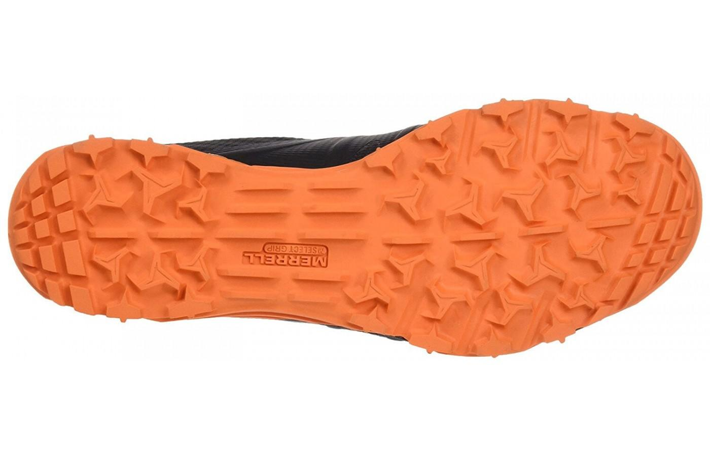 The Merrell Avalaunch Tough Mudder has M-Select GRIP technology for off-road traction