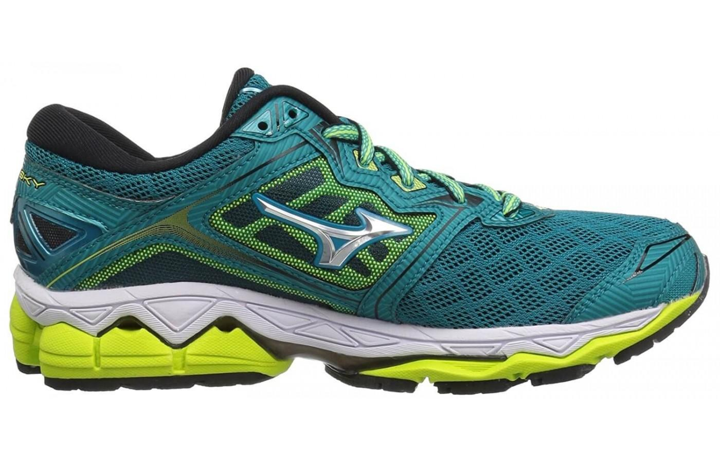 Mizuno Wave Sky Heel to Toe