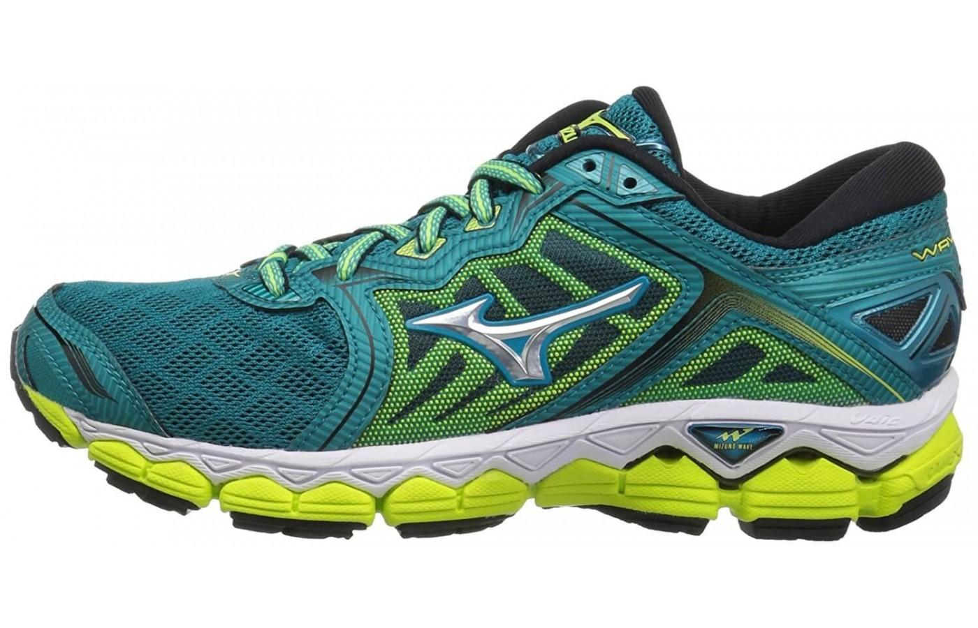 Mizuno Wave Sky Toe to Heel