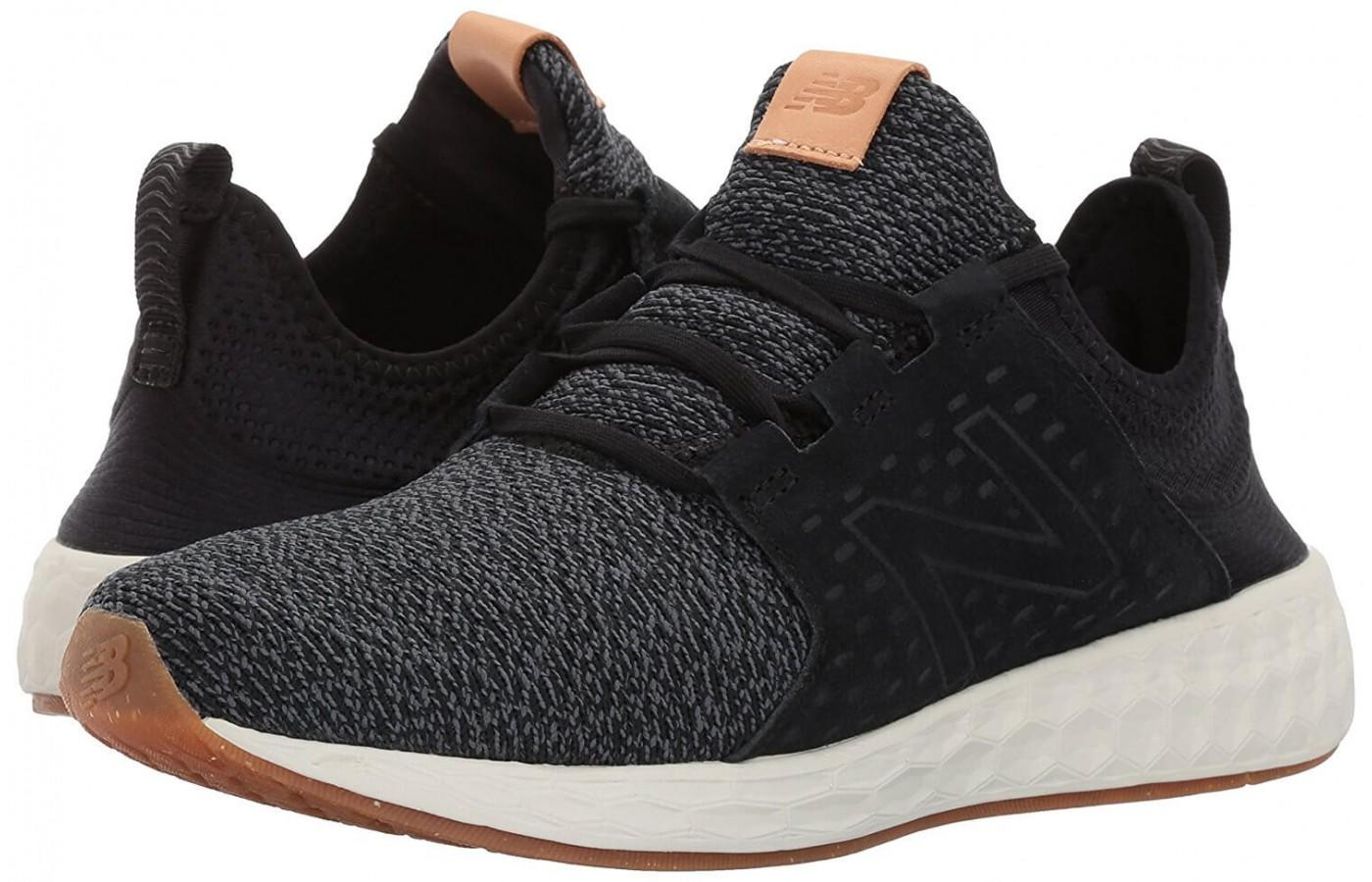 a pair of New Balance Fresh Foam Cruz are comfortable to wear and run in
