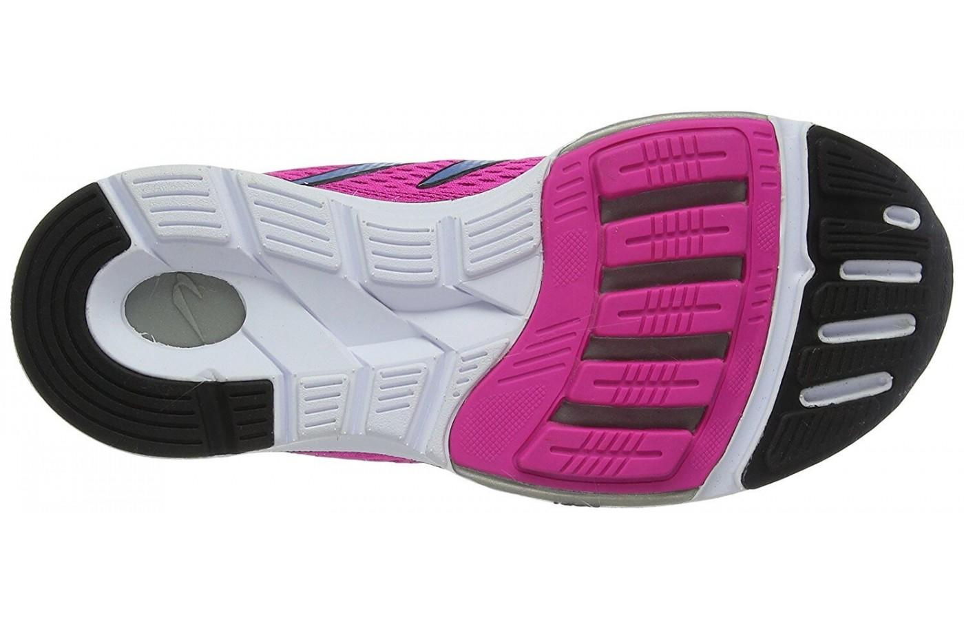 Outsole of the Newton Gravity 6 is made of high density rubber
