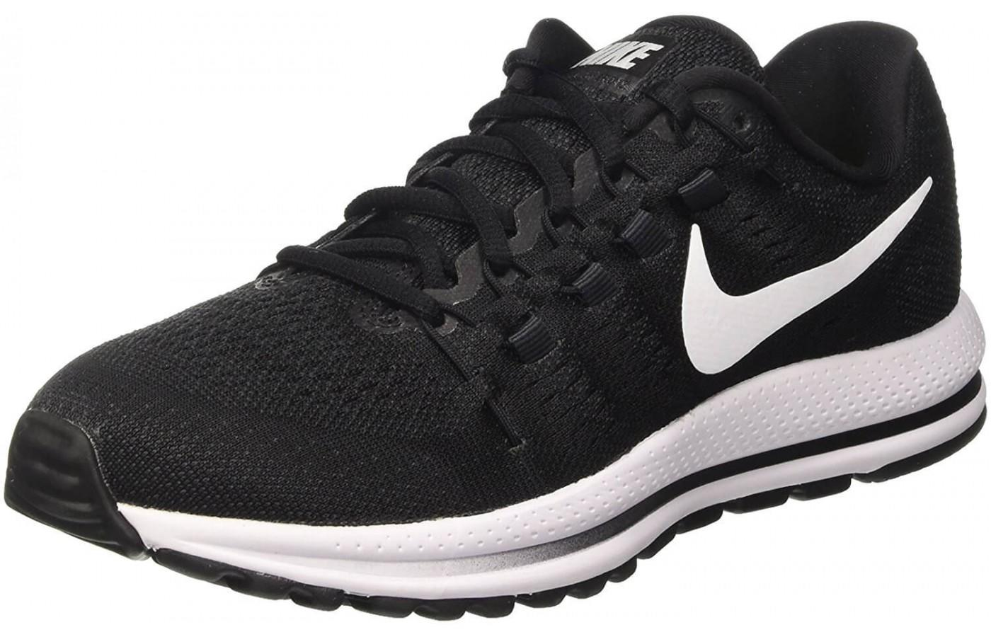 The Nike Air Zoom Vomero 12 shown from the front/side