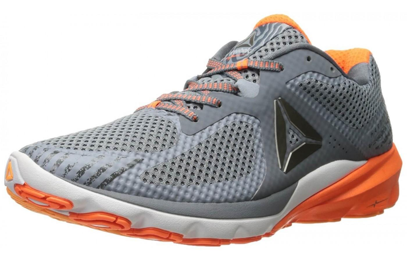the Reebok Harmony Road is a dynamic high-performance trainer