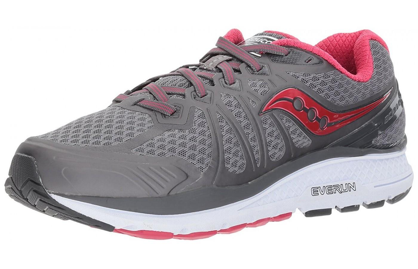 The Saucony Echelon 6 shown from the front/side