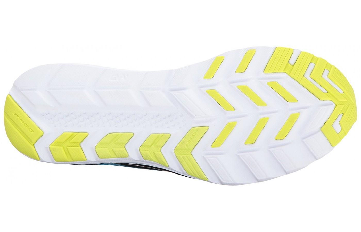 The iBR+ blown rubber outsole of the Saucony Kinvara 8 is one of its biggest improvements.