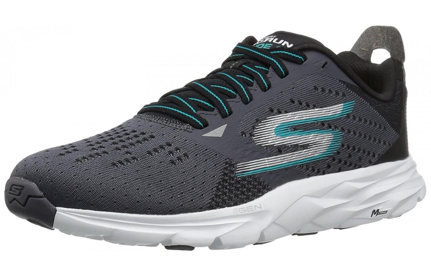the Skecher GOrun Ride 6 is a comfortable and breathable running shoe