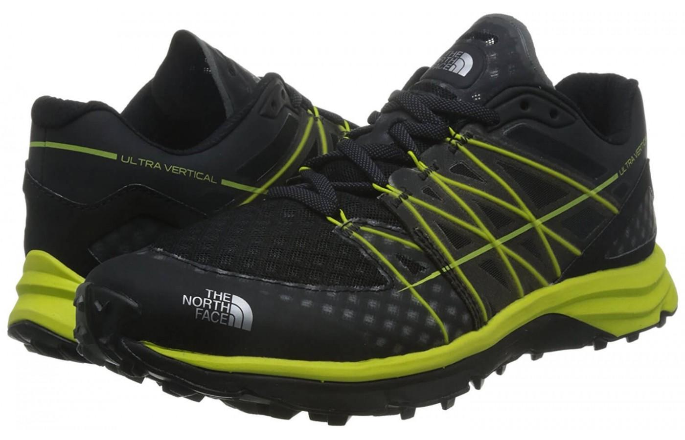 The North Face Ultra Vertical is great for trail running and mountain climbing