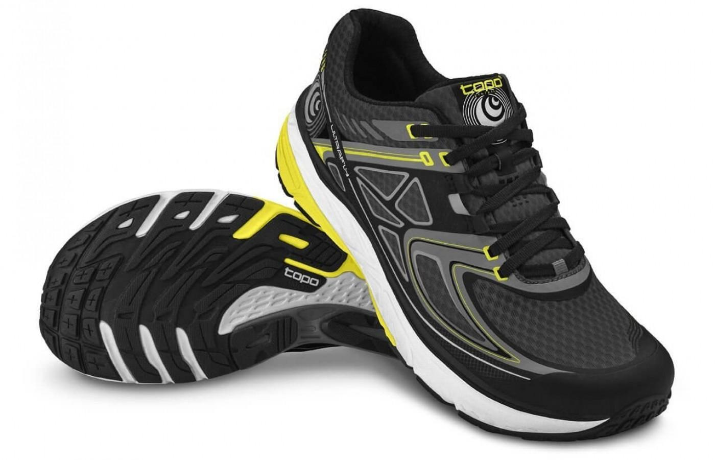 a pair of Topo Athletic Ultrafly are durable and long-lasting even after many runs