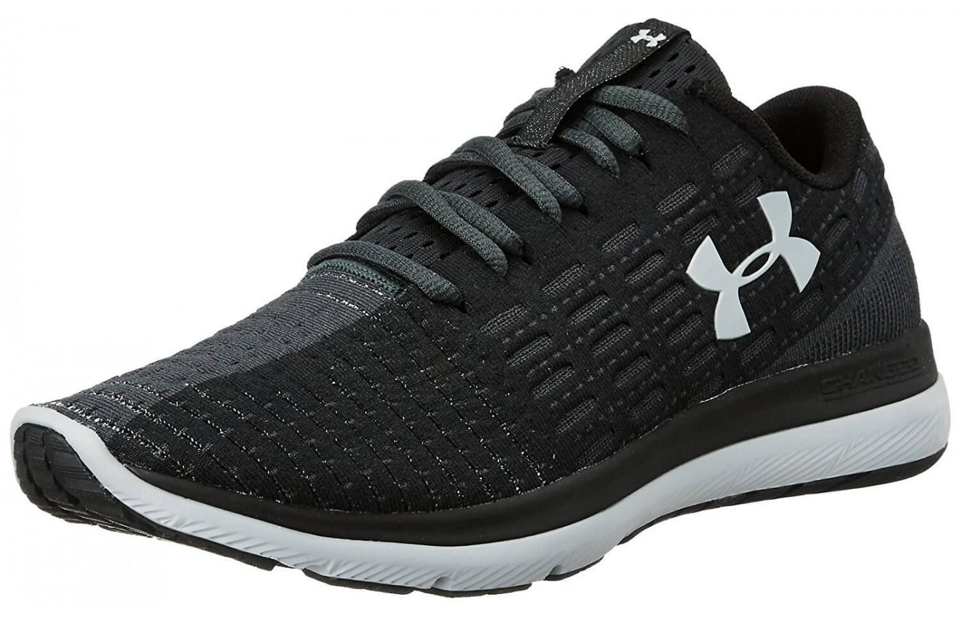 under armour 2017. the under armour threadborne slingflex shown from front/side 2017