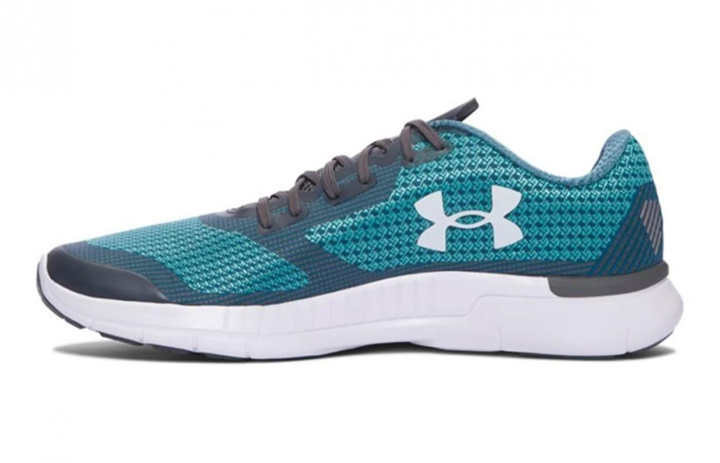 the Under Armour Charged Lightning features a low profile and a comfortable fit