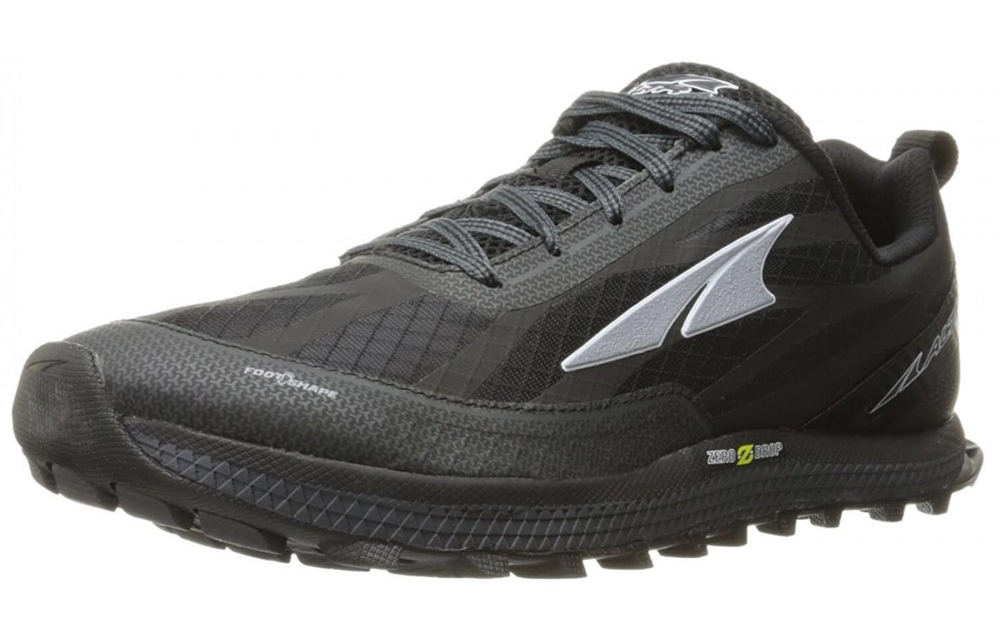 The Altra Supeior 3.0 is lightweight but aggressive on the trails.